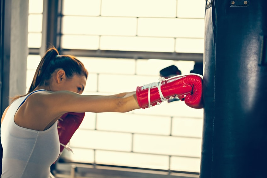 Boxer copywriting with punch