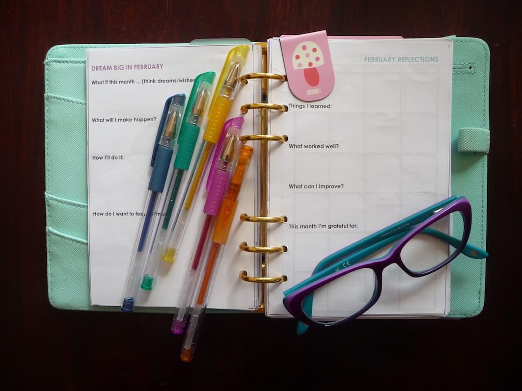 Planner for business goal setting