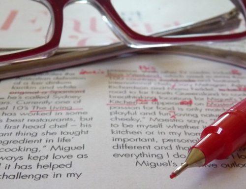 Ten tips for better proofreading