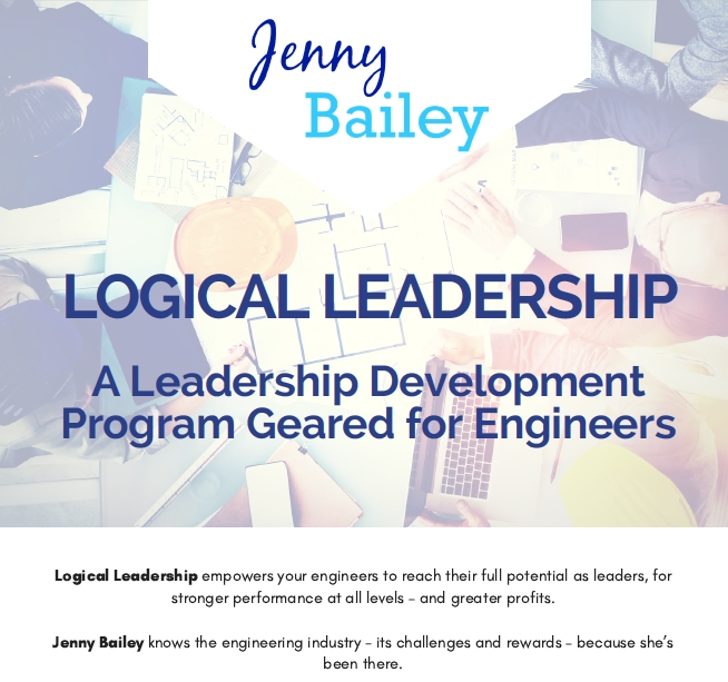 Logical Leadership brochure copy
