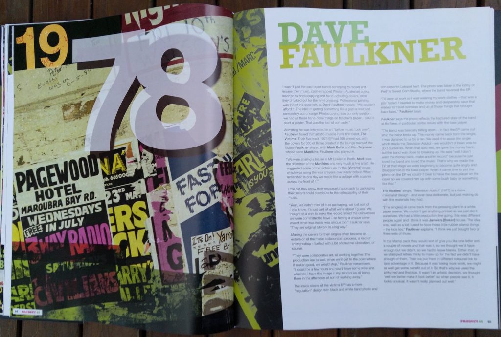 Product 45 Dave Faulkner feature