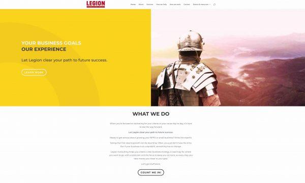 Legion Consulting SEO website copy