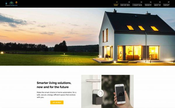 Smart Habitat SEO website copy
